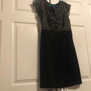 212 black pencil dress